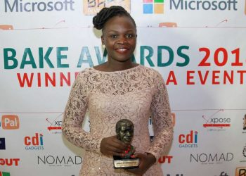 2018 Kenyan Blog of the year winner Bonita Aluoch 1